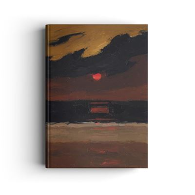 Kyffin Williams 'Sunset Over Anglesey' hardback notebook