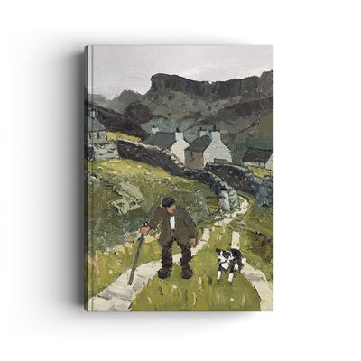 Kyffin Williams 'The Way to the Cottages' hardback notebook