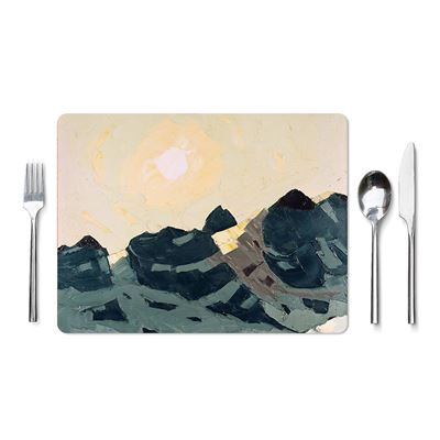Kyffin Williams 'Mountain Landscape with High Sun' placemat