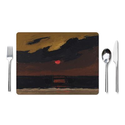 Kyffin Williams 'Sunset Over Anglesey' placemat