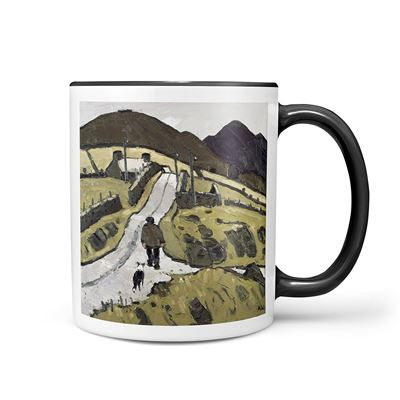 Kyffin Williams 'Farmer with Following Dog' mug