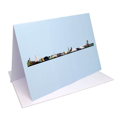 Leicester Skyline greetings cards – six-piece set