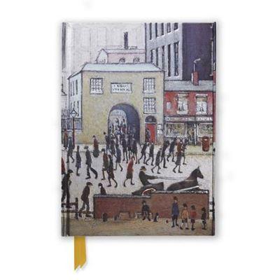 L. S. Lowry 'Coming from the Mill' (1930) foiled journal