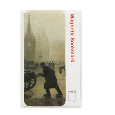 Adolphe Valette 'Albert Square, Manchester' magnetic bookmark