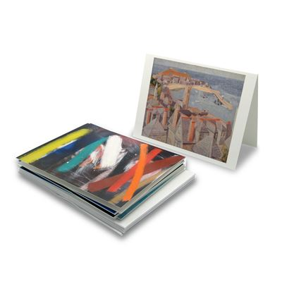 Wilhelmina Barns-Graham greeting cards – 9-piece set