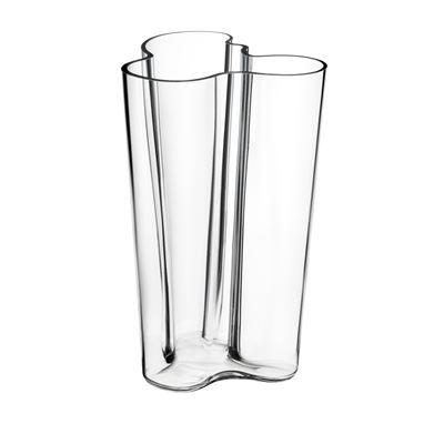 Aalto Vase 251mm - Clear glass