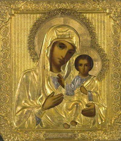 Icon of the Virgin Mary and the Christ Child