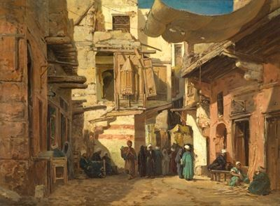 A Street in the Hassonayn Quarter, Cairo