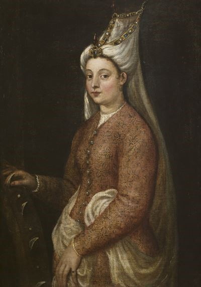 Cameria, Daughter of Suleiman the Magnificent, as Saint Catherine