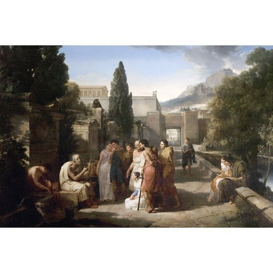 Homer Singing His Iliad at the Gate of Athens
