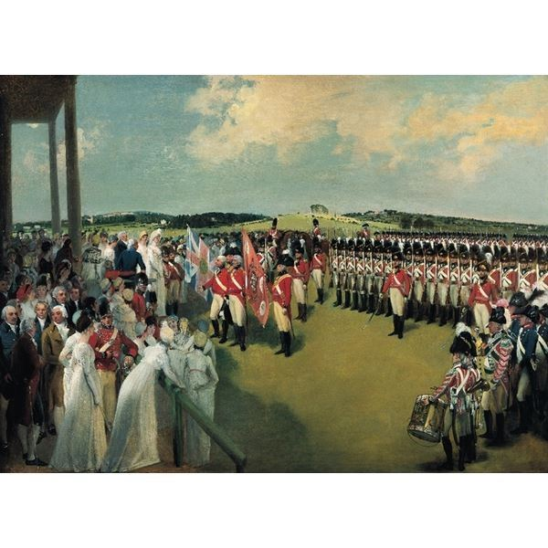Presentation of the Colours to the Bank of England Volunteer Corps